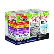 FitActive Cat BOX 12 x 100g