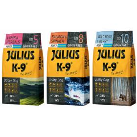 JULIUS K9 proovipakkide kombo 3x340g